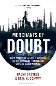cover of Merchants of Doubt