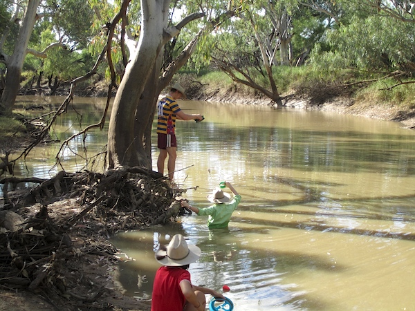 Fishing in Torrens Creek