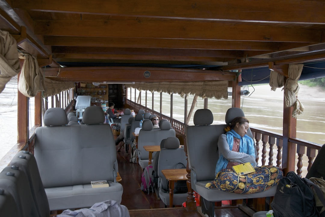 riverboat open cabin