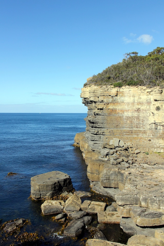 sandstone cliff