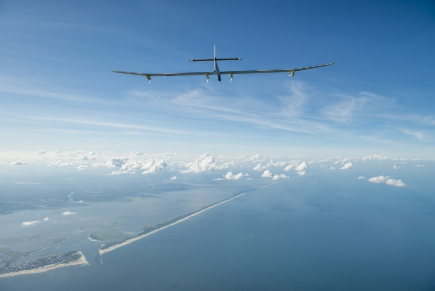 Solar Impulse in flight