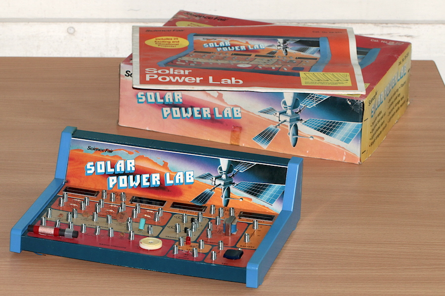 Tandy 'Science Fair' Solar Power Lab, c. 1978