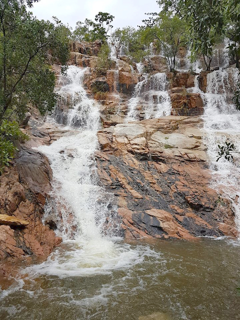 Hervey's Range waterfall
