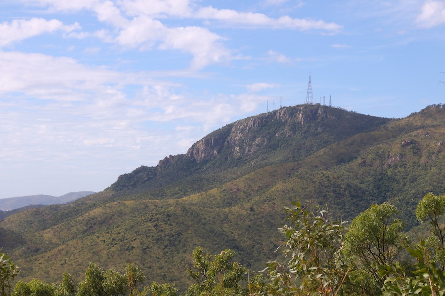 View from foothills of Mount Stuart