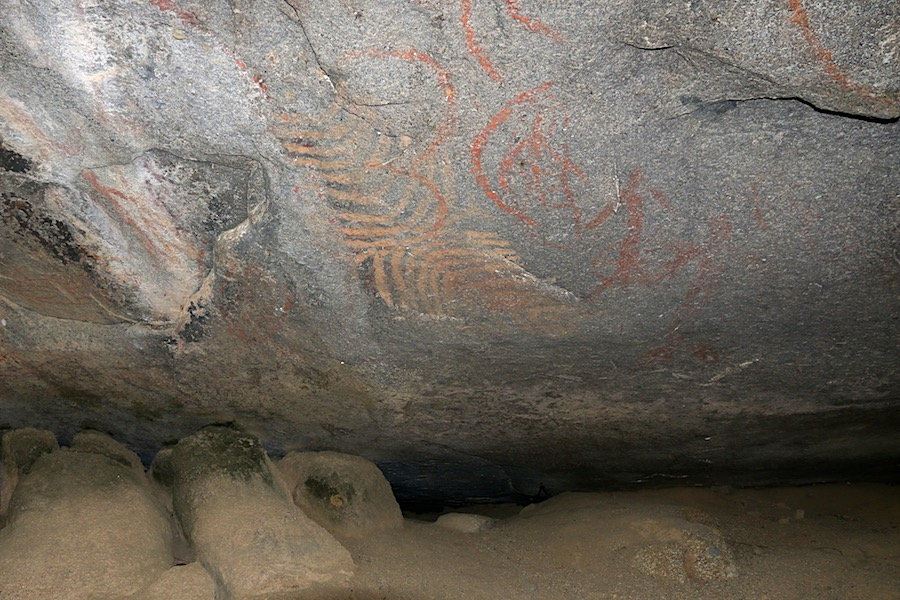 Rock art at Turtle Rock