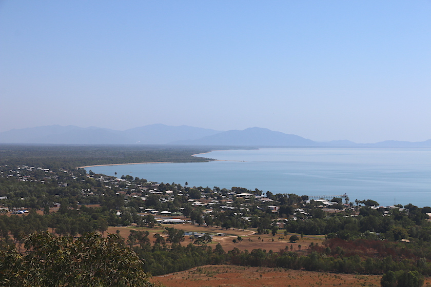 view over Cardwell towards Mission Beach