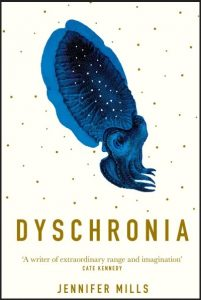 cover of Jennifer Mills novel Dyschronia