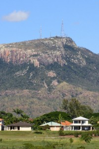 View of Mt Stuart from Ross River parkland