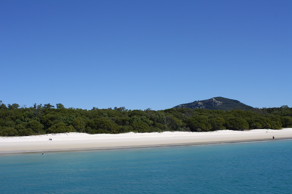 view of Whitehaven Beach, Queensland
