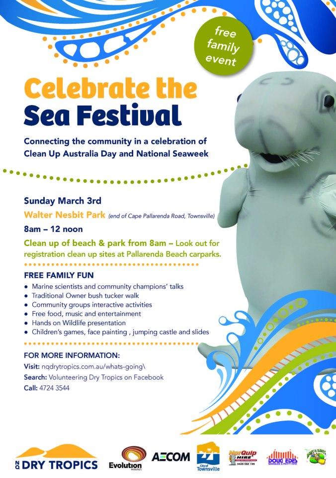 Celebrate the Sea Festival Flier