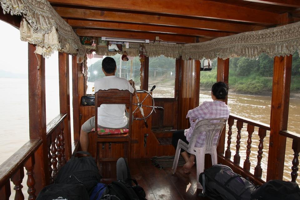 riverboat wheelhouse