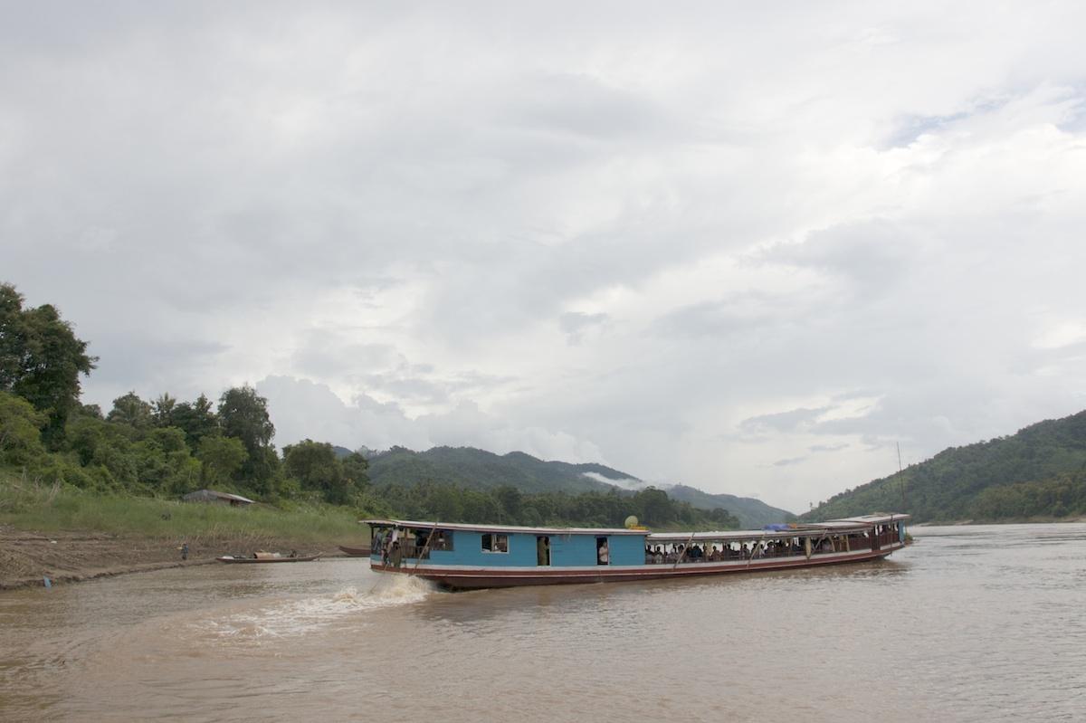 Mekong ferryboat