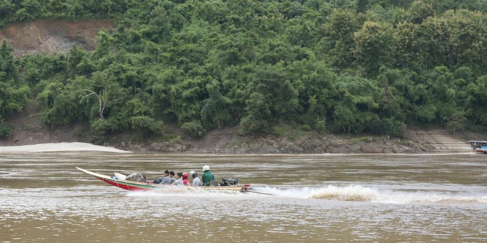 Longtail speedboat