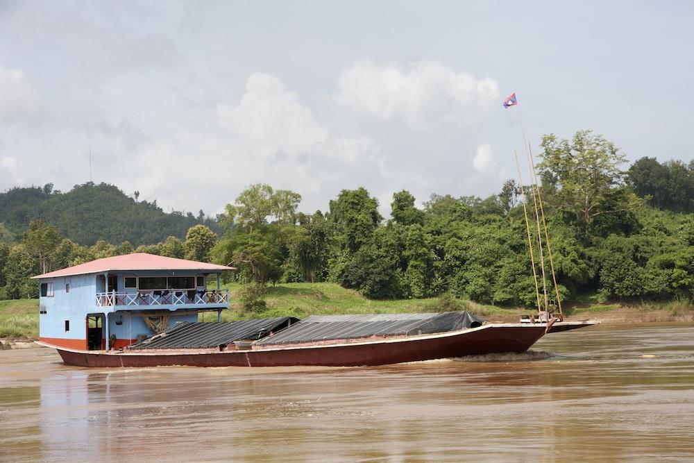 Mekong freighter