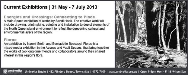 flyer for Umbrella Studio