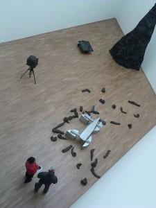 Museum of Modern Art, Frankfurt: Beuys from above