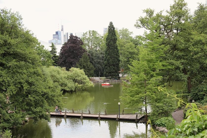 gardens and lake