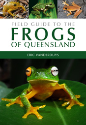"cover of ""Frogs of Queensland"""