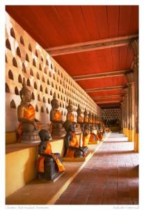 Cloister, Wat Sisaket, Vientiane, Laos