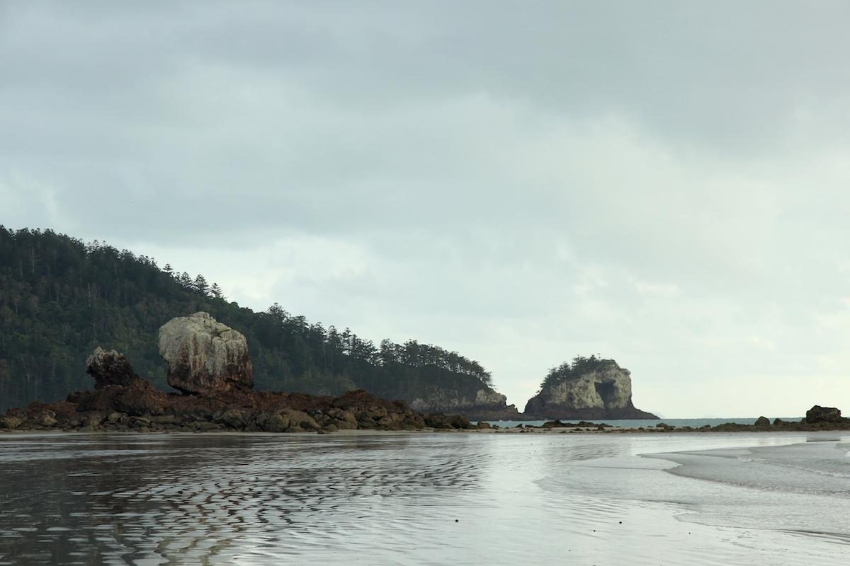 beach and headland