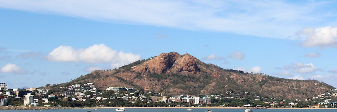 Castle Hill from the Magnetic Island ferry