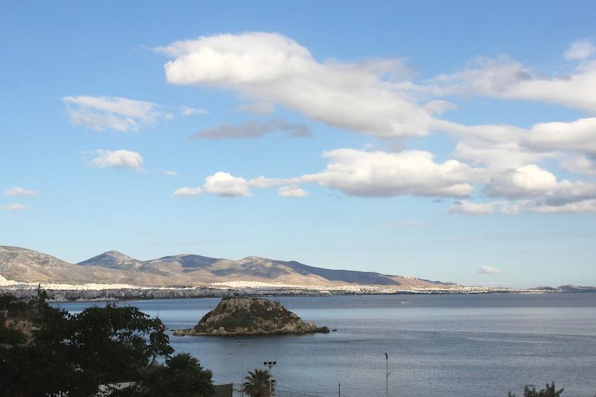 The coast near Piraeus