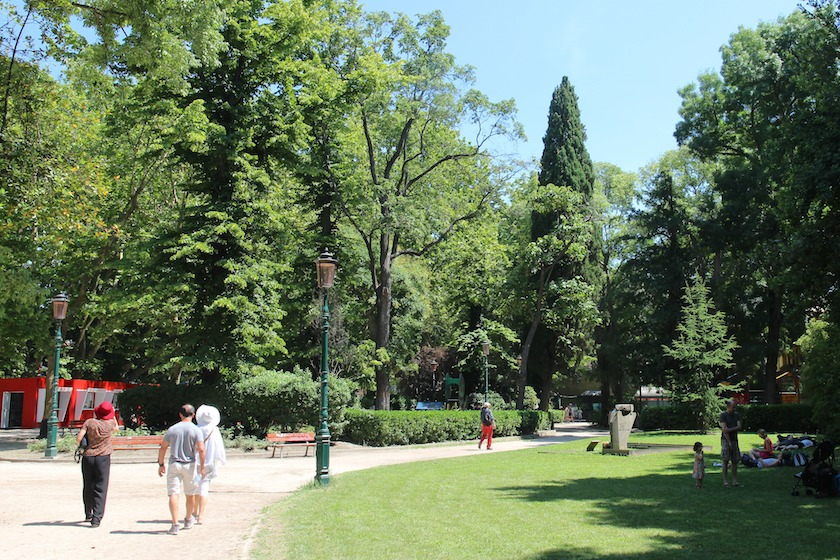 formal public gardens