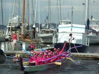 Hobart dock scene