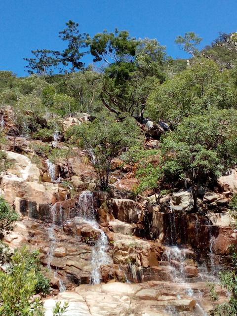 Hervey's Range waterfall