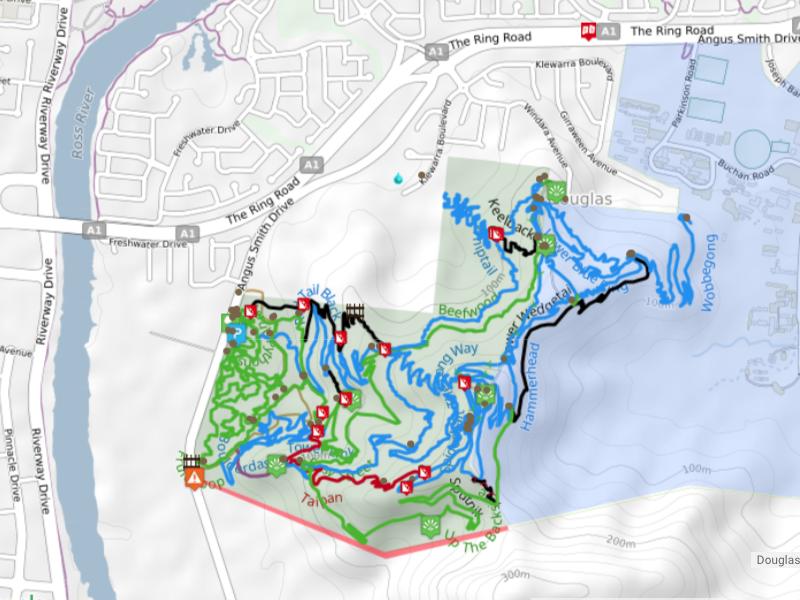 Mt Stuart bike trails