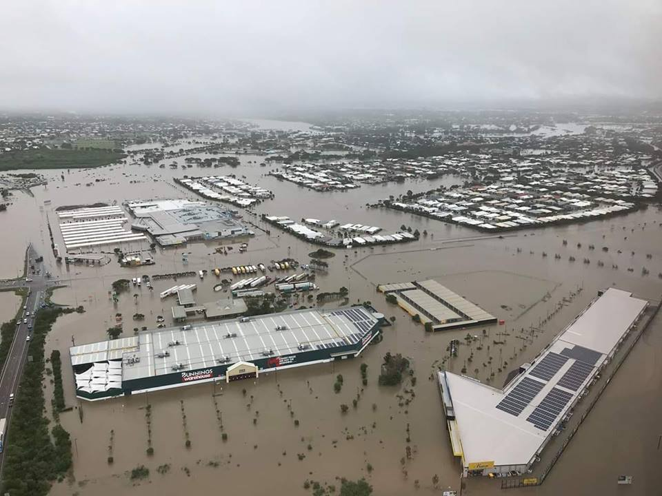 Fairfield in 2019 floods