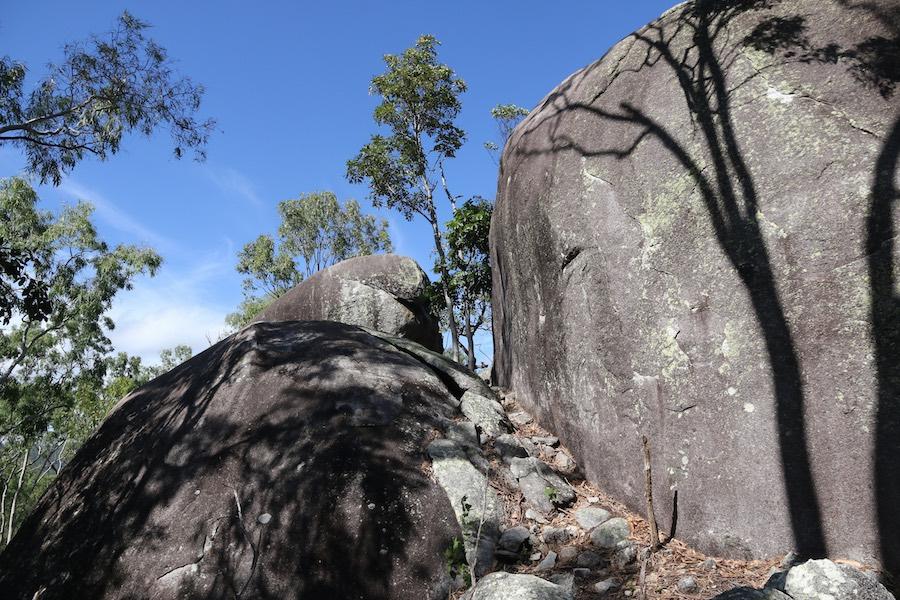 Boulders beside Turtle Rock