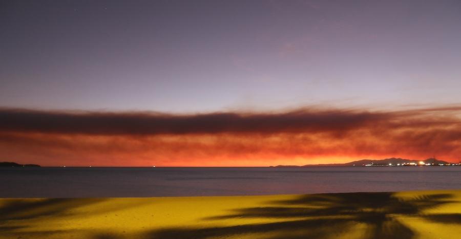 Predawn sky, Cleveland Bay