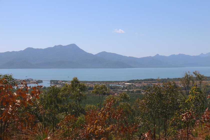 Hinchinbrook Island from Cardwell lookout