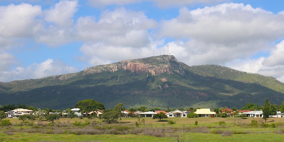View of Mt Stuart from Sherriff Park
