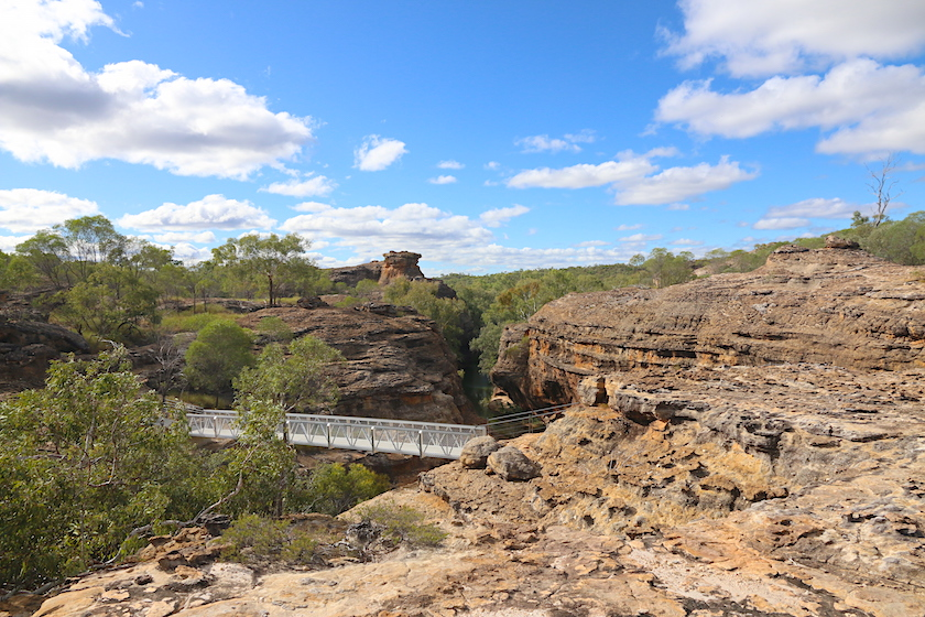 Cobbold Gorge from above