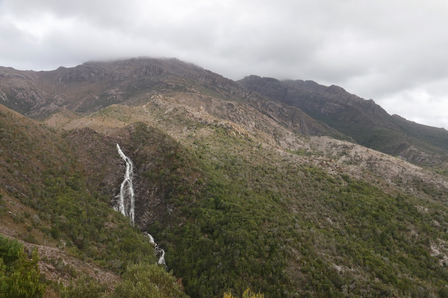 Horsetail Falls and Mt Owen