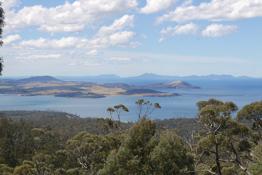 view from Three Thumbs Lookout