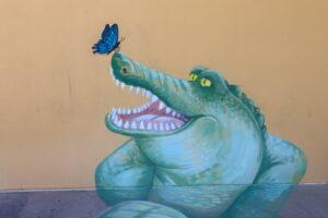 Strand Ephemera 2021 - chalk art