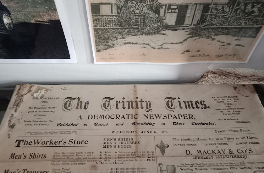 Trinity Times newspaper, 1906