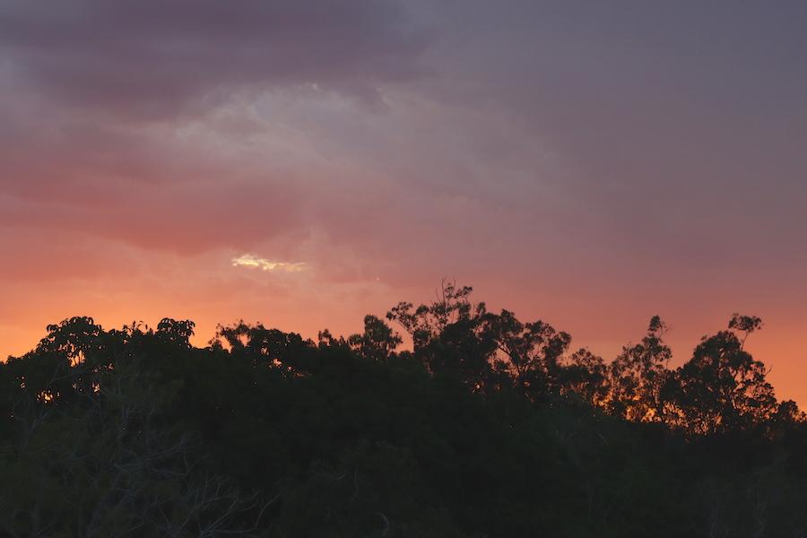 Granite Gorge sunset